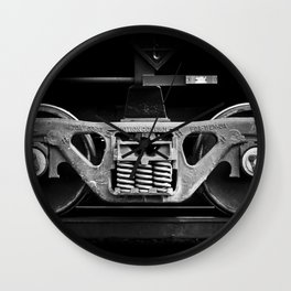 have oil will travel Wall Clock