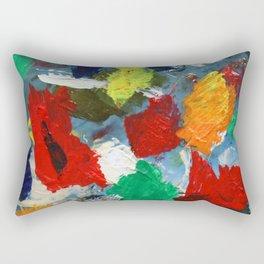 The Artist's Palette Rectangular Pillow