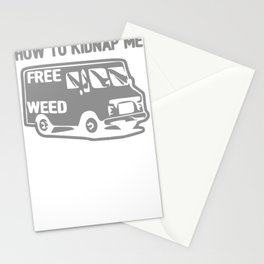 HOW TO KIDNAP ME Stationery Cards