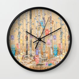 Cute Monsters Wall Clock