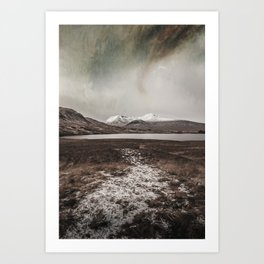 Painted Skies Art Print
