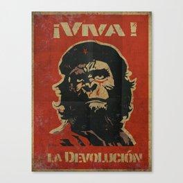 VIVA LA DEVOLUCIÓN Canvas Print