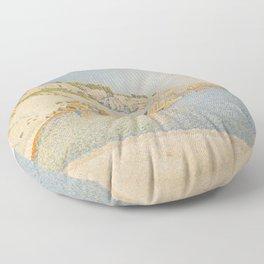 Cassis, Cap Lombard, Opus 196 Floor Pillow