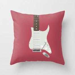 Candy Apple Twang Throw Pillow