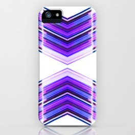 Innerspace - Ultra Violet Minimal Geometric Abstract iPhone Case