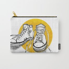 All stars converse on gold Carry-All Pouch