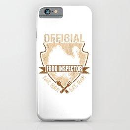 Food Inspector iPhone Case