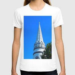 Church Steeple Statues T-shirt