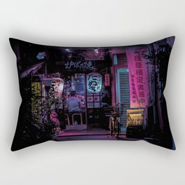 Tokyo Nights / Midnight Diner / Liam Wong Rectangular Pillow