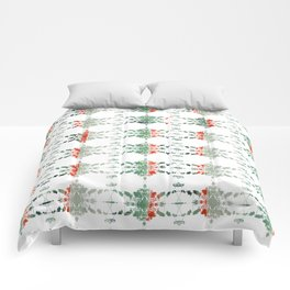 estrela_turqouise&red_no1 Comforters