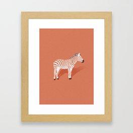 Animal Kingdom: Zebra I Framed Art Print