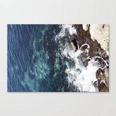 Rock Water Canvas Print