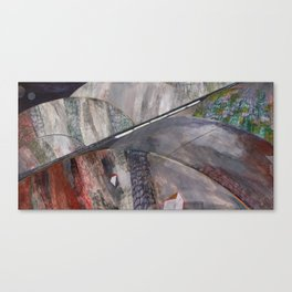 Nisja: the night train 10 Canvas Print