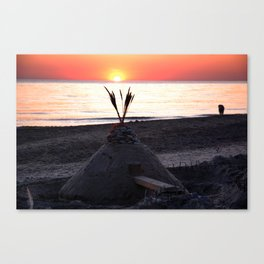 Sunset 3 Canvas Print