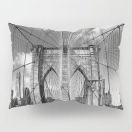 Brooklyn Bridge New York City Pillow Sham