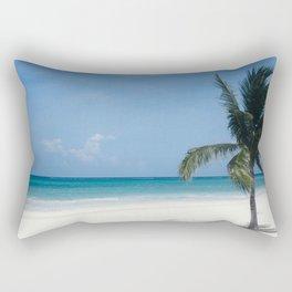 Cancun Beach Rectangular Pillow