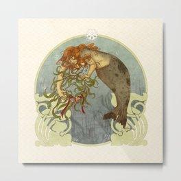 Wreath of the Isles Metal Print