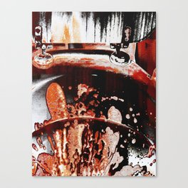 Occult Circus-Wash Your Hands (Blood Red Version) Canvas Print