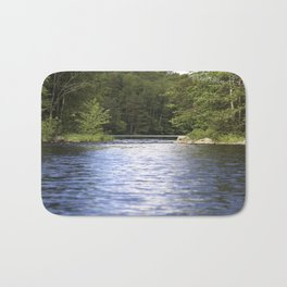 Relaxing View To The Lake Bath Mat