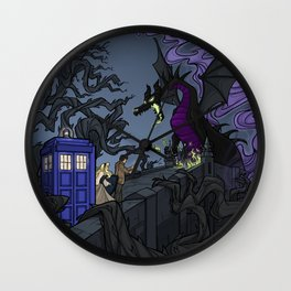 And Now You Will Deal with ME, O' Doctor Wall Clock