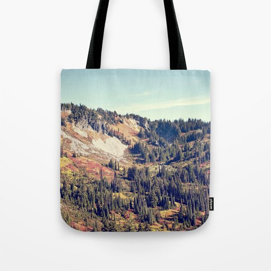 Fall Mountain Tote Bag