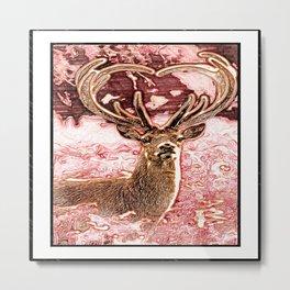 Stunning Deer 04-02 Metal Print