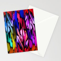 Feather Rainbow Stationery Cards