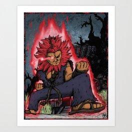 Akuma (SF5) Art Print