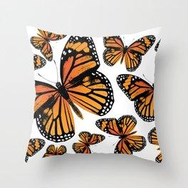 Monarch Butterflies | Monarch Butterfly | Vintage Butterflies | Butterfly Patterns | Throw Pillow