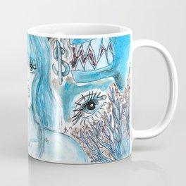 Doodles of Disturbing Thoughts Coffee Mug
