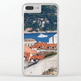 City of Dubrovnik in Croatia Clear iPhone Case