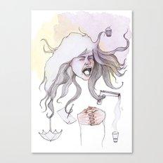 Hairs as Hands Canvas Print