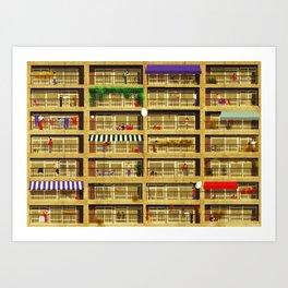condominium Art Print
