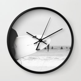 catch a wave II Wall Clock