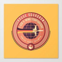 Rogue Squadron Canvas Print