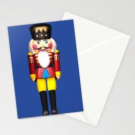 Nutcracker Merry Christmas - blue Stationery Cards