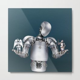 Ethical robotics Metal Print