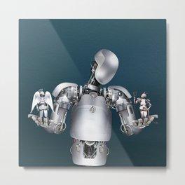 Ethical robotics Metal Print