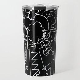 School blackboard Travel Mug
