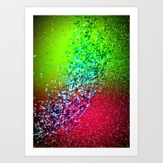 Sparkling Watermelon Art Print