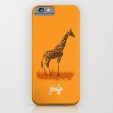 4-legged Exotica Series: Giraffe Slim Case iPhone 6s