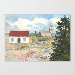 Star Island-Room With A View Canvas Print