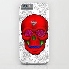 FLOWER SKULL Slim Case iPhone 6s