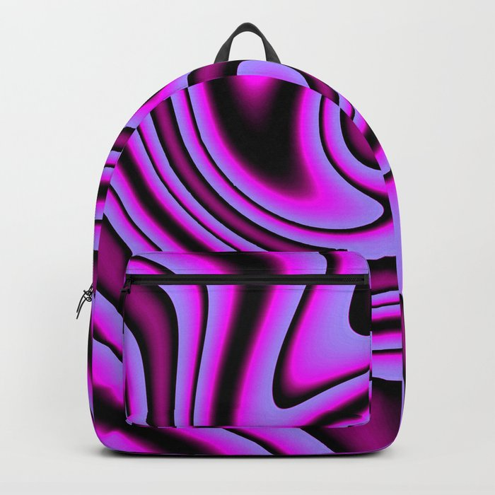 Cosmic Purple Swirls Backpack