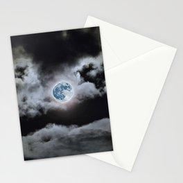 Blue Moon I Wonder Stationery Cards