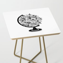 What a Wonderful World Side Table