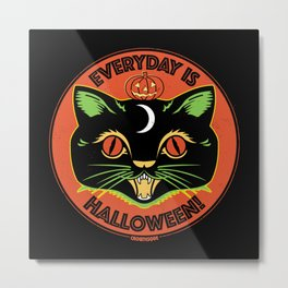 Everyday is Halloween Metal Print