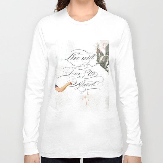 L.W.T.U.A (Love will tear us apart) Long Sleeve T-shirt