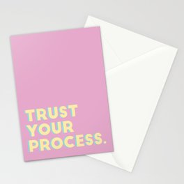 Trust Your Process Stationery Cards