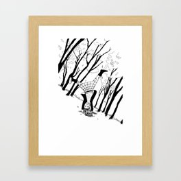 Head Over Heels Framed Art Print